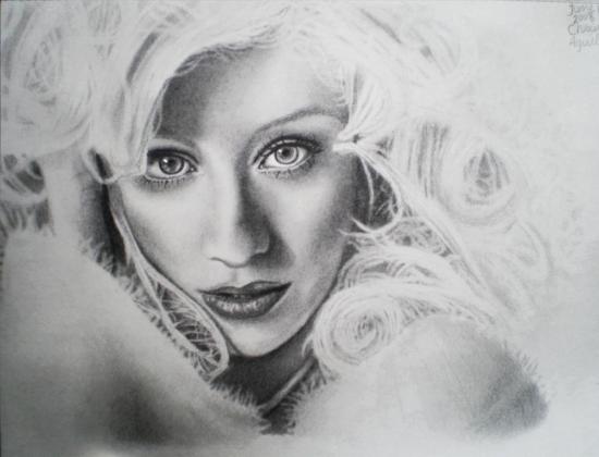 Christina Aguilera by tothelastparade